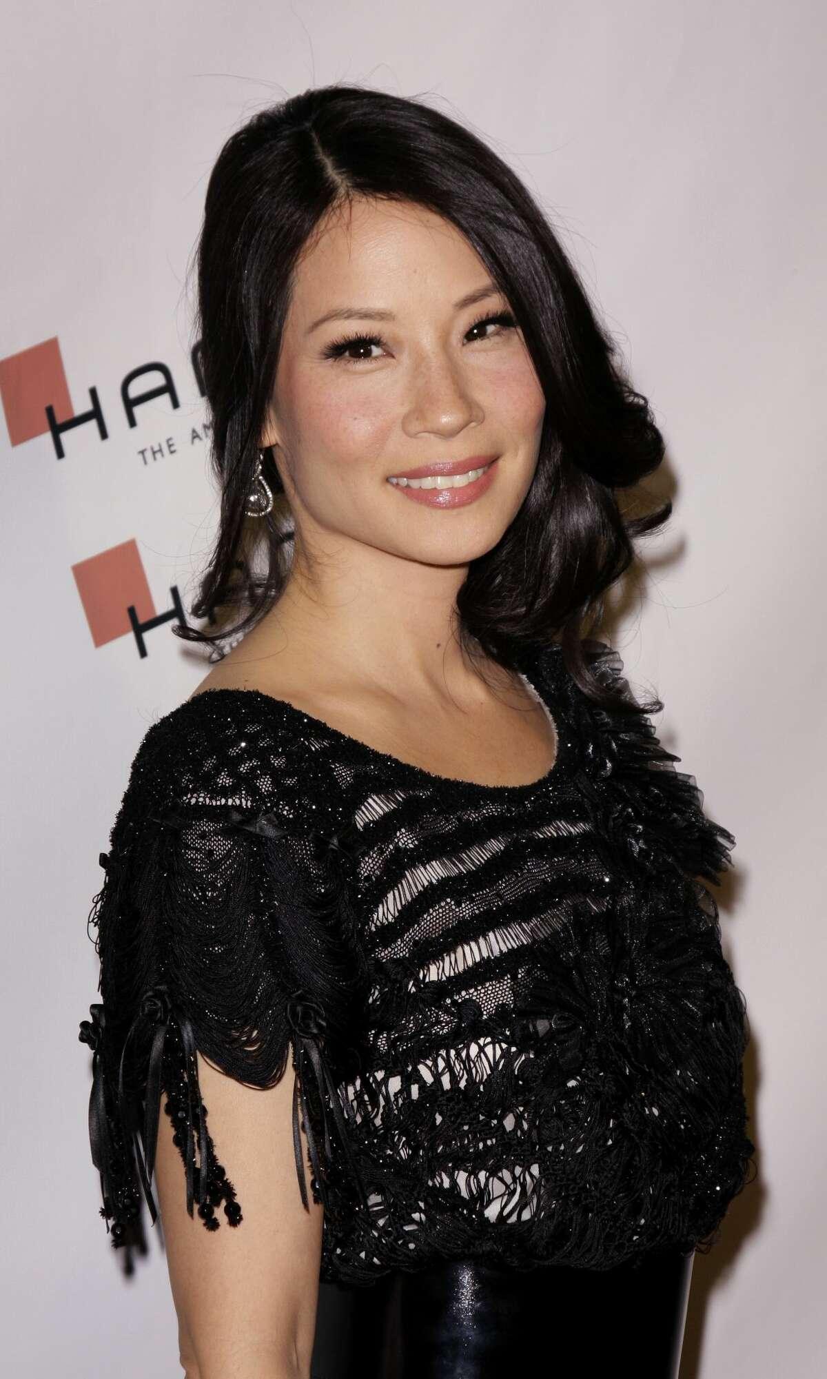 Clue: Liu arrives at the Hamilton and Hollywood Life Magazine - Behind The Camera Awards.