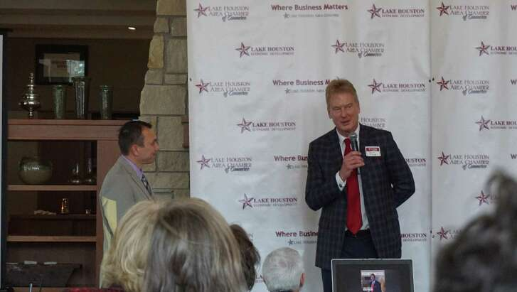 Jess Fields Sr., owner of Rosewood Funeral Home speaks after winning the 2018 Haden McKay M.D. Citizen of the Year award. He will be further recognized at an event in January 2019.