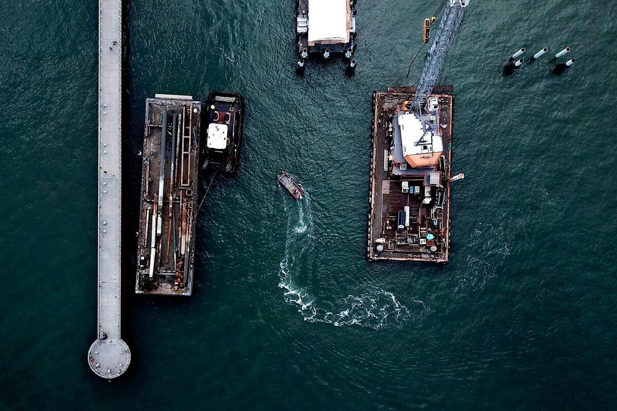 Pier 14 on Wednesday, Nov. 28, 2018, in San Francisco, Calif.