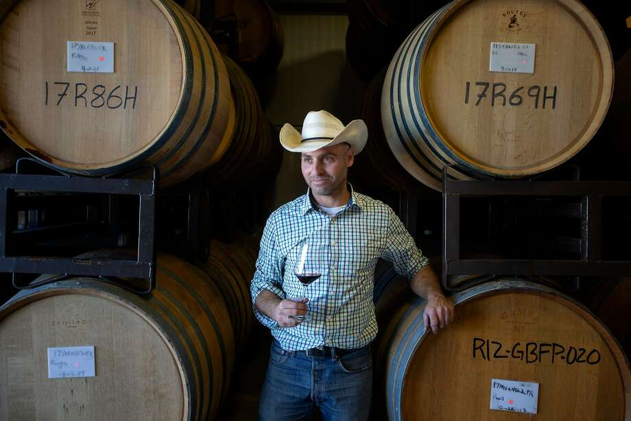 Jeremy Weintraub is the winemaker at Paso Robles' Adelaida Vineyards. He also makes wines under his own personal brand, Site Wines. Photo: Patrick Tehan / Special To The Chronicle