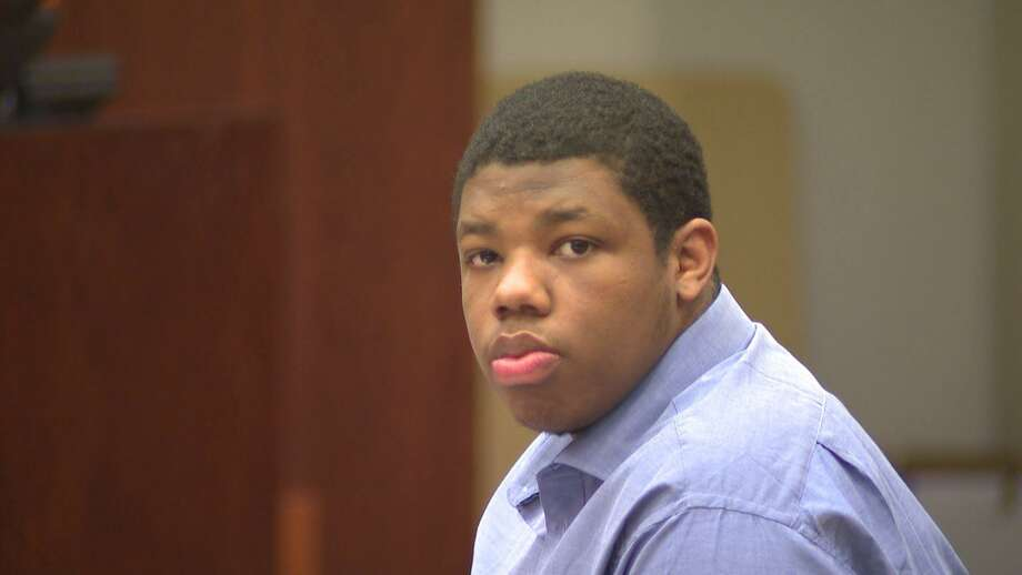 Philip Battles, 20, on trial for capital murder in court on November 28, 2018. Battles faces life in prison without parole in the shooting death of 4-year-old Ava Castillo.
