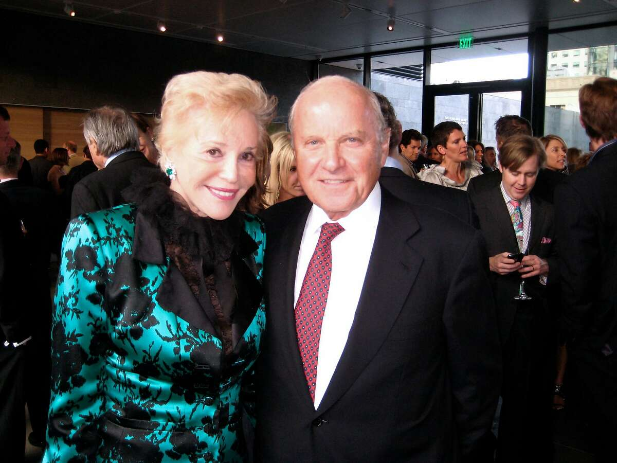 Ann Johnson and her husband, Franklin Templeton Chairman Charles Johnson, at SFMOMA's 75th Anniversary Dinner. May 2010.~~