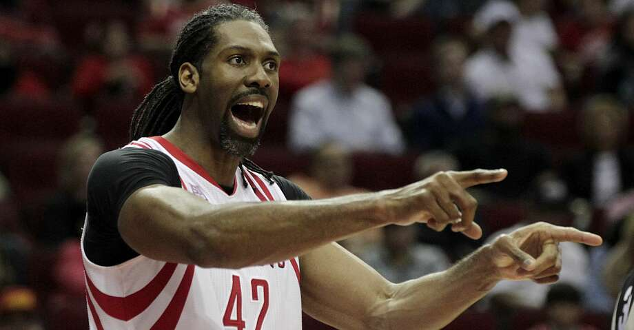 PHOTOS: Rockets game-by-game Houston Rockets center Nene Hilario reacts after a playduring second half of NBA game action against the Orlando Magic at Toyota Center Tuesday, Feb. 7, 2017, in Houston. ( James Nielsen / Houston Chronicle ) Browse through the photos to see how the Rockets have fared in each game this season. Photo: James Nielsen/Houston Chronicle