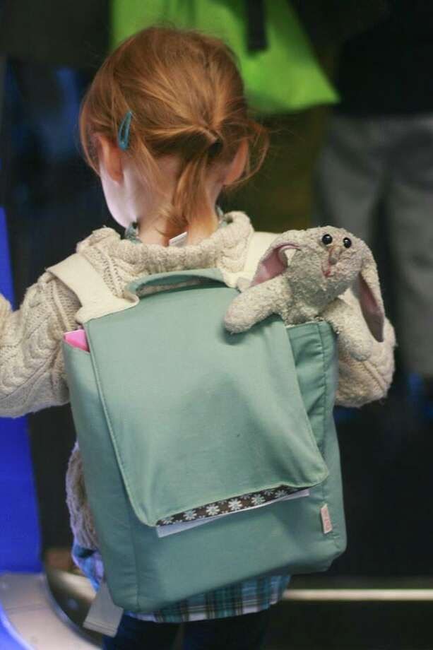 A California family is searching for their 9-year-old daughter's beloved stuffed Bunny, which they said was lost Nov. 24 in the Capital Region. Photo: Gates Family