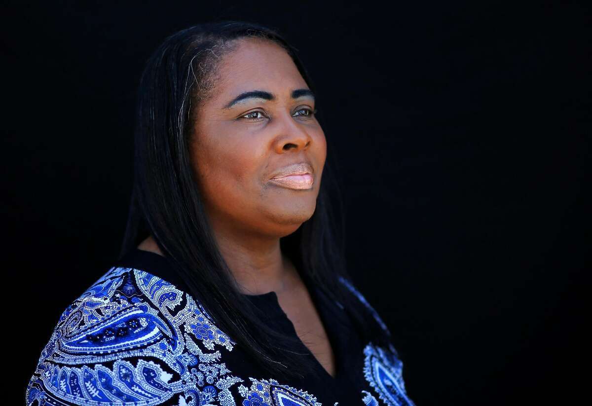 Wanda Johnson, the mother of Oscar Grant, pictured at her home July 12, 2016 in Hayward, Calif.