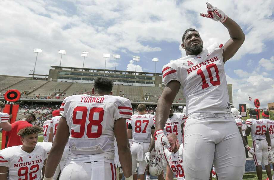 PHOTOS: Where players from Houston-area high schools are expected to be picked in this year's NFL Draft Ed Oliver, who starred at Westfield High School and University of Houston, could be the first Top 10 pick from the Houston area since Elkins' Jake Matthews and Galveston Ball's Mike Evans both went in the Top 10 in 2014. Browse through the photos above to get an idea of where players from the Houston area will be picked in this year's NFL Draft ...  Photo: Elizabeth Conley, Houston Chronicle / Staff Photographer / © 2018 Houston Chronicle