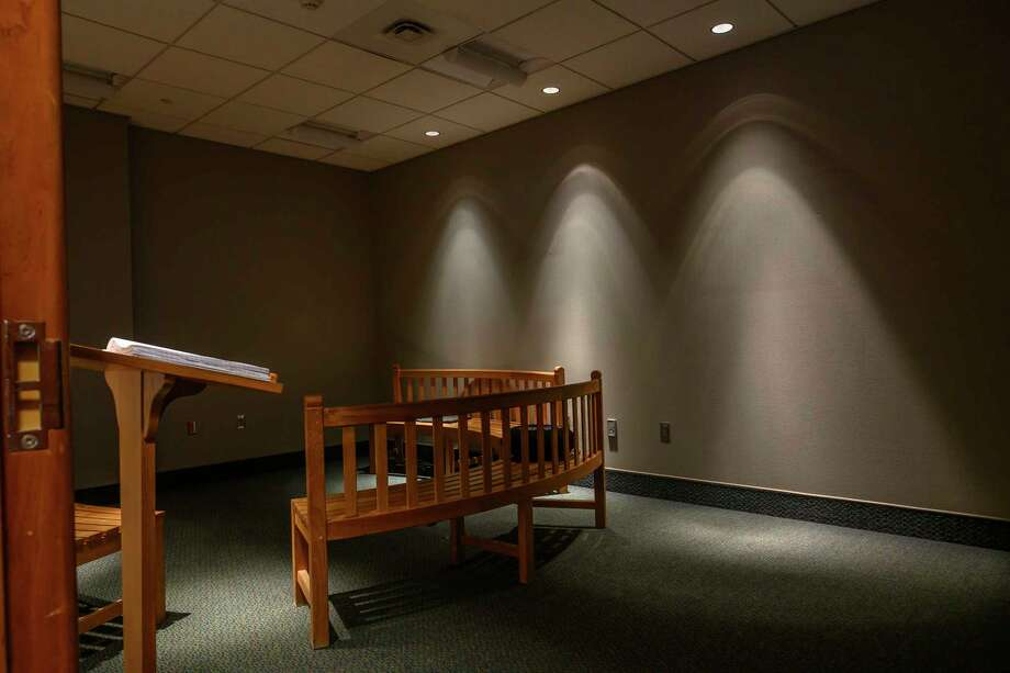 View of the temporary Meditation Room on the first floor of the Albany International Airport next to the Business Center Friday Nov. 30, 2018 in Colonie, N.Y.  (Skip Dickstein/Times Union) Photo: SKIP DICKSTEIN / 20045603A