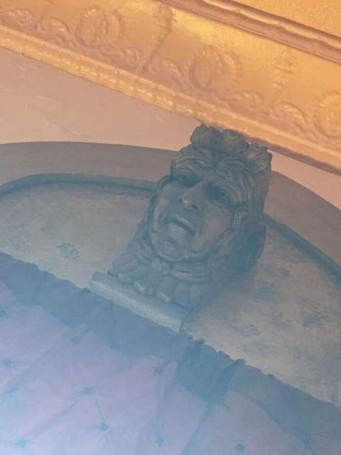 Among the adornments in the Tangled Vine restaurant, 27 decorative heads are from Carlinville's Fall Festival on the grounds of John C. Anderson mansion. Photo: Jill Moon | The Edge