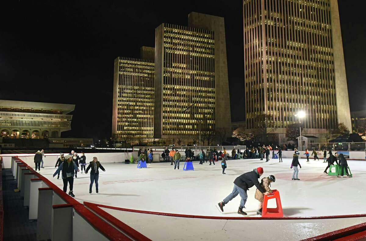 FILE. Letter writer says, 'Chris Churchill's column, 'Where to next for Holiday Lights in the Park?' June 1, really got my attention when he threw out this idea: Empire State Plaza.' (Lori Van Buren/Times Union)