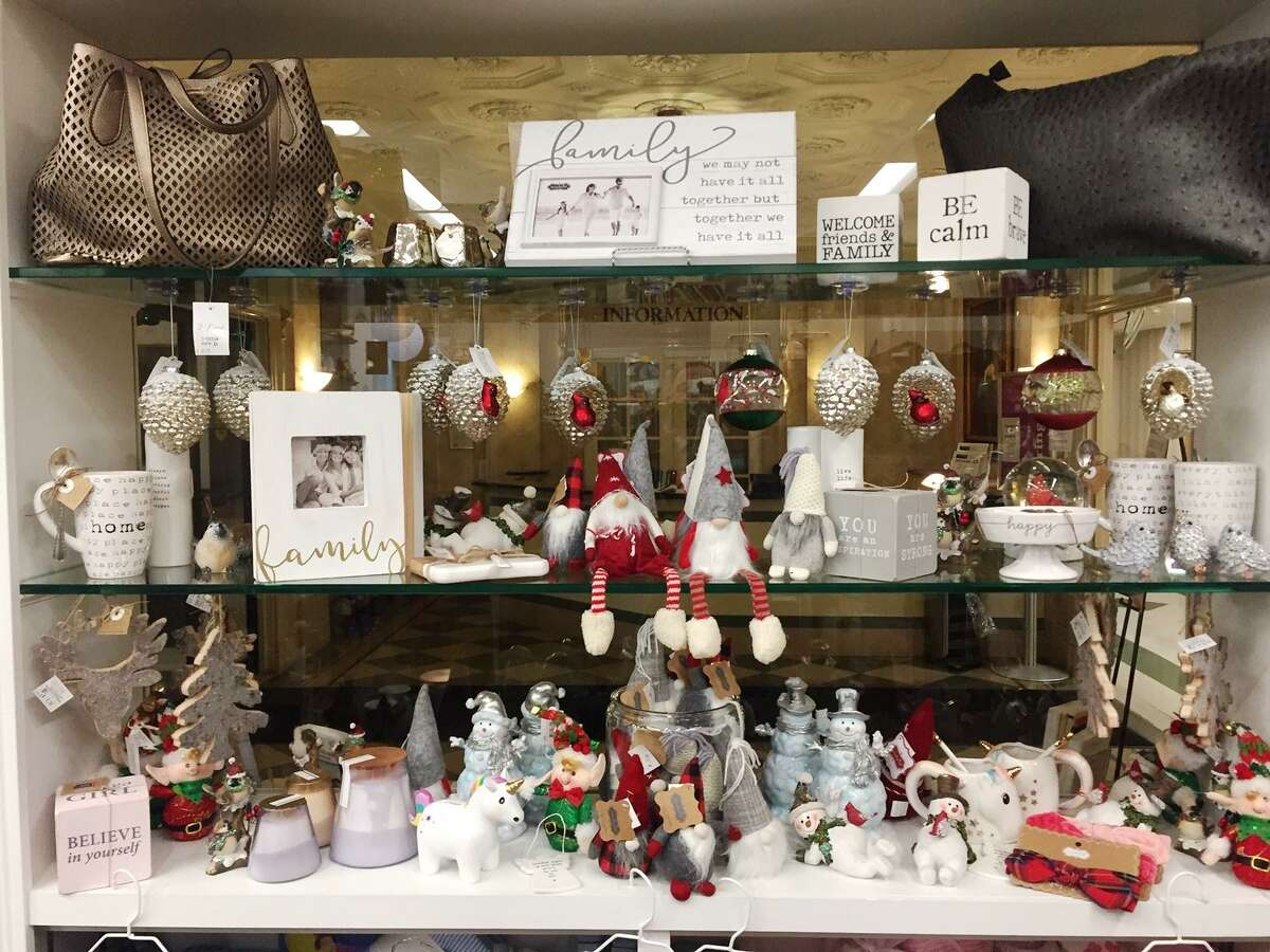 Charlotte Hungerford Hospital's gift shop is dressed up for the holidays.