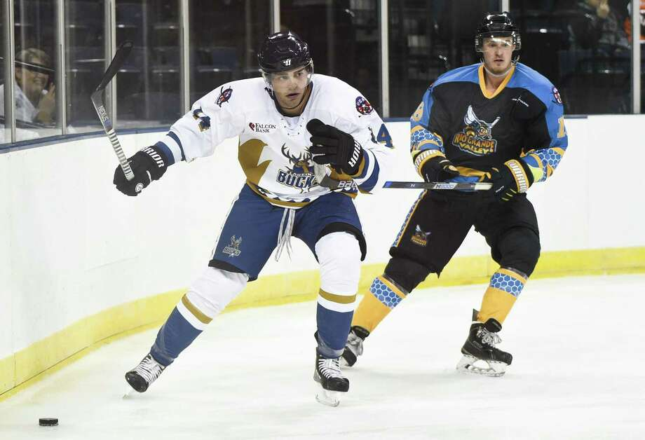 The RGV Killer Bees' game at the Wichita Falls Force was postponed Friday reportedly due to a financial issue. The USACHL, home of the Bucks, saw one of its four teams in the Lawmen fold Thursday. Photo: Danny Zaragoza / Laredo Morning Times / Laredo Morning Times