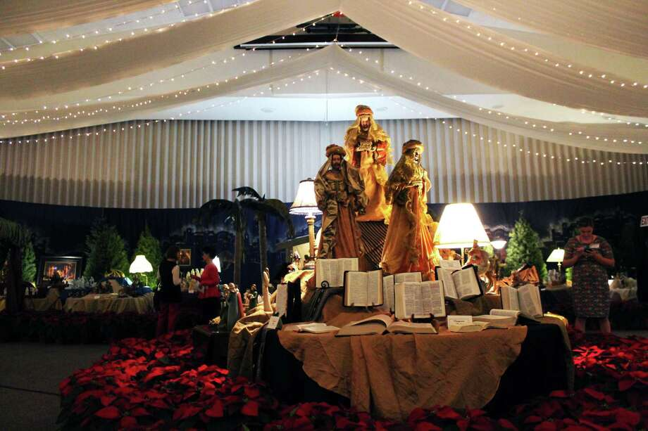 The Church of Jesus Christ of Latter-Day Saints in Kingwood held their annual nativity exhibit to display various nativities and art works from around the world. Photo: Kaila Contreras