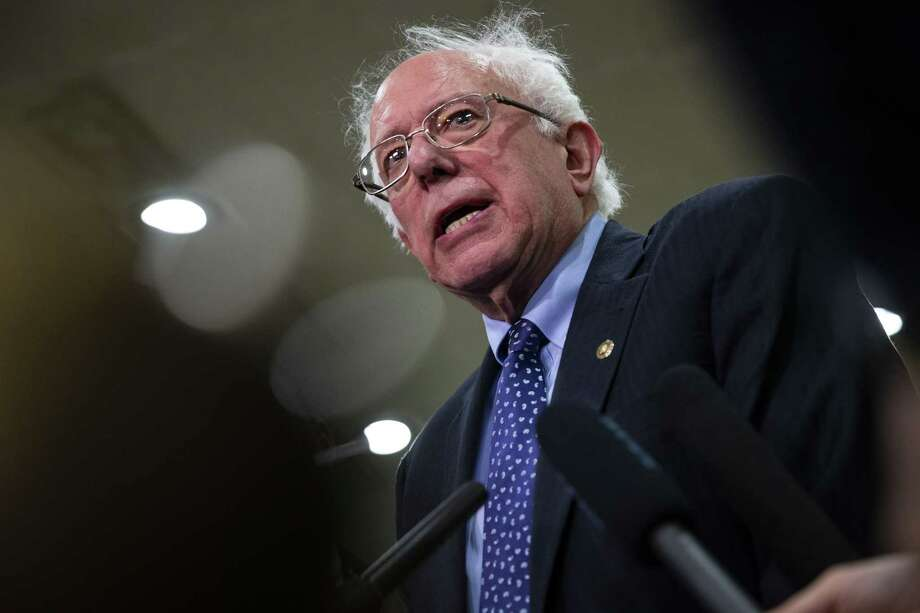 Sen. Bernie Sanders, I-Vt., is actively discussing whether to mount another presidential campaign. Photo: Bloomberg Photo By Al Drago / © 2018 Bloomberg Finance LP