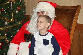 Lunch with Santa at the Caseville Eagles Club.