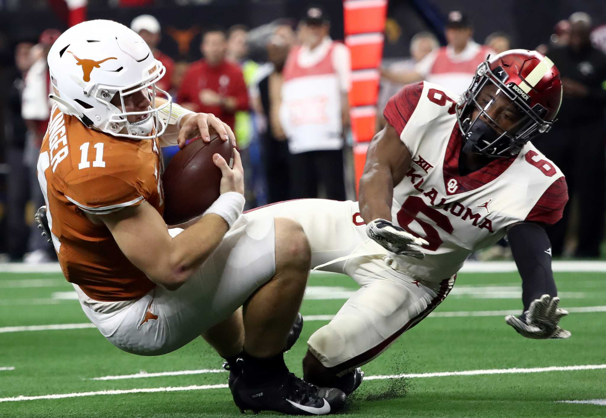 With Georgia looming, Texas tries to put OU in the past ...