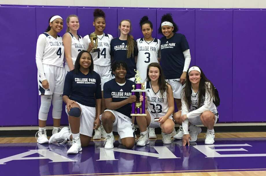 The College Park girls basketball team won the Klein Cain Tournament on Saturday, Dec. 1, 2018.