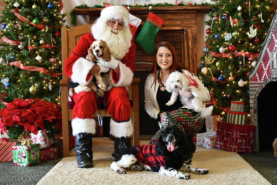 The Warner Theatre, Torrington, hosted its second annual Paws & Claus in The Nancy Marine Studio Theatre on Saturday, Dec 1, 2018. Attendees and their four-legged friends took pictures with Santa, shopped and enjoyed cookies and hot cocoa. Were you SEEN? Photo: Lara Green- Kazlauskas/ Hearst Media