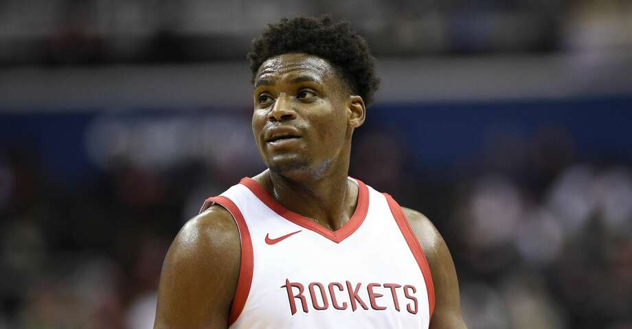 PHOTOS: Rockets vs. Timberwolves Houston Rockets guard Danuel House stands on the court during the second half of an NBA basketball game against the Washington Wizards, Monday, Nov. 26, 2018, in Washington. The Wizards won 135-131 in overtime. (AP Photo/Nick Wass) >>>See game action from the Rockets' game against the Timberwolves on Monday, Dec. 3, 2018 ... Photo: Nick Wass/Associated Press
