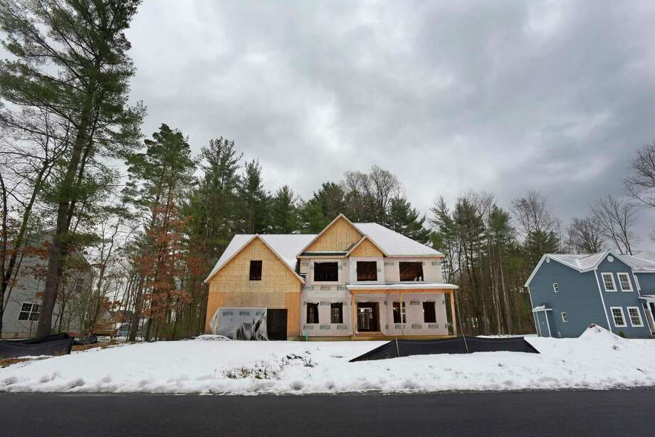 A view of the shell of a home located at 12 Cardiff Circle on Wednesday, Nov. 21, 2018, in Wilton, N.Y.   (Paul Buckowski/Times Union) Photo: Paul Buckowski / (Paul Buckowski/Times Union)