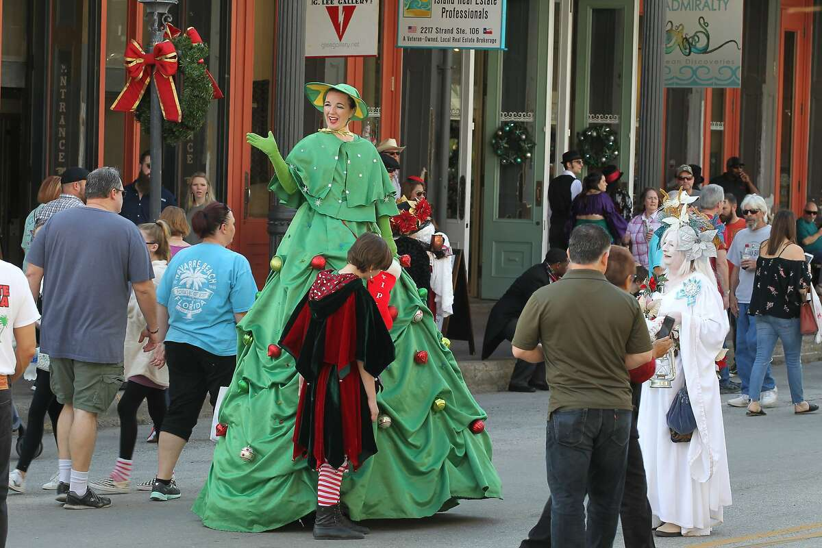 Dickens on the Strand - Dec. 6 - Dec. 8 The festival begins on Dec. 6 at 5 p.m. and goes until 9 p.m. Presented by the Galveston Historical Society, Dickens on the Strand features live entertainment and special events. https://www.galvestonhistory.org/events/dickens-on-the-strand