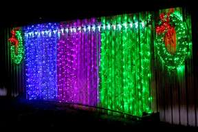 Huron Community Fair Christmas Light Display