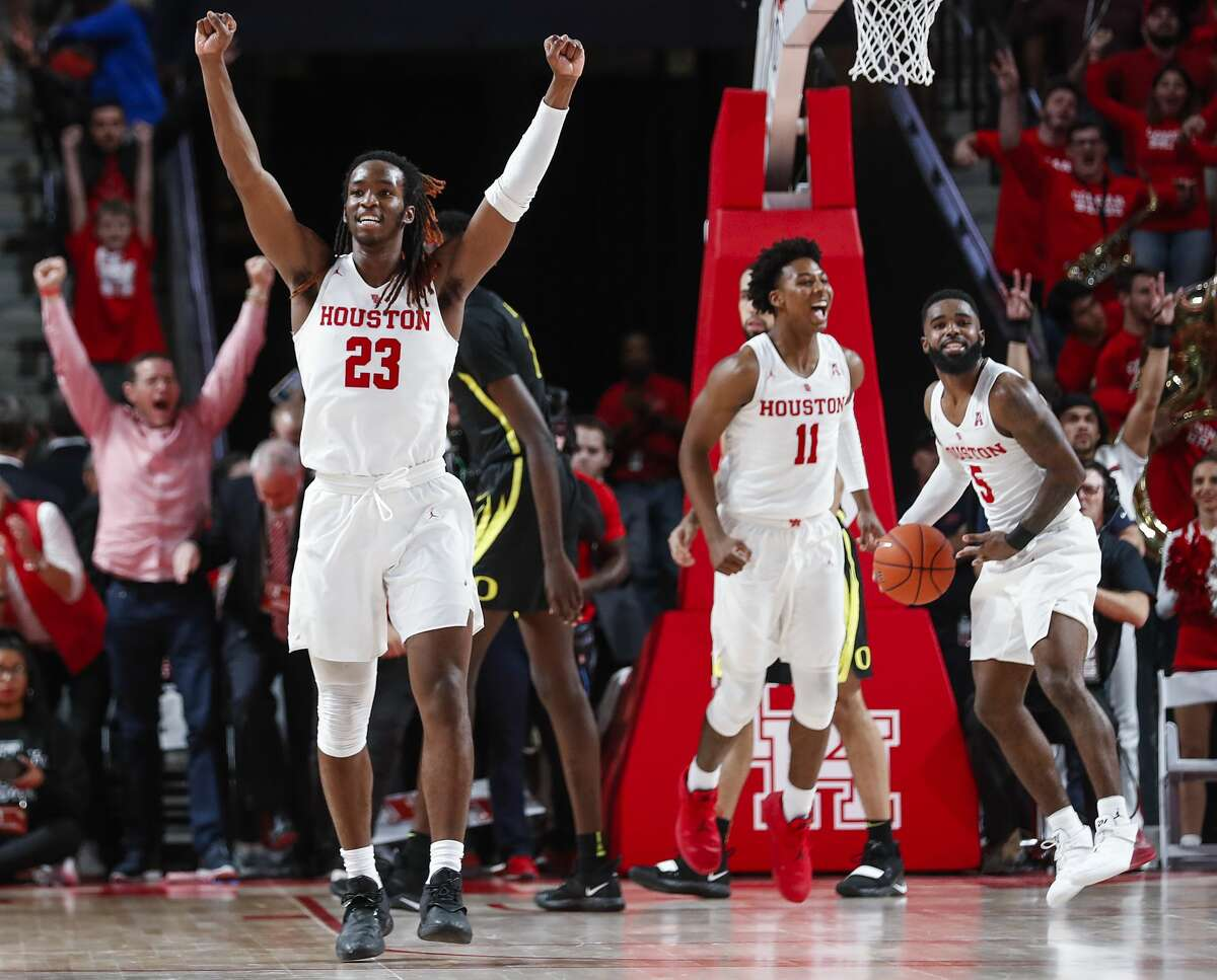 Houston is off to its best start since the 1969-70 season and entered the national rankings Monday.