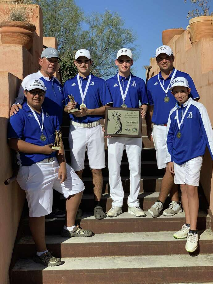 St. Augustine won the UISD Invitational Saturday at the Max A. Mandel Municipal Golf Course and took the top two places individually withHoracio Perez and Marcelo Garza both shooting a 142. Photo: Courtesy Photo