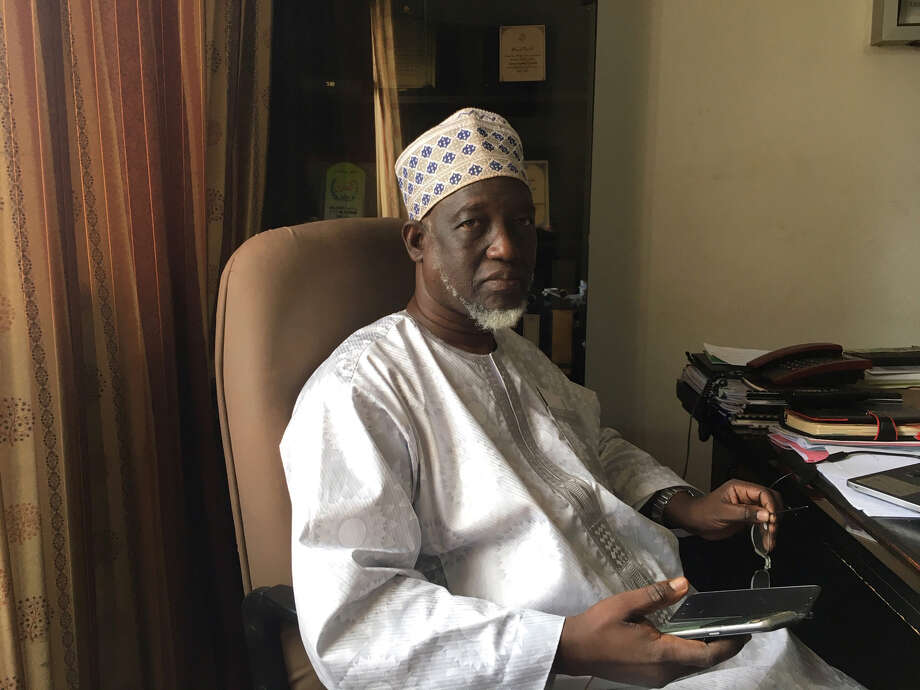 Ibrahim Kontao, the director of Al-Farouk, Mali's wealthiest charity. Photo: Bloomberg Photo By Katarina Hoije. / © 2018 Bloomberg Finance LP