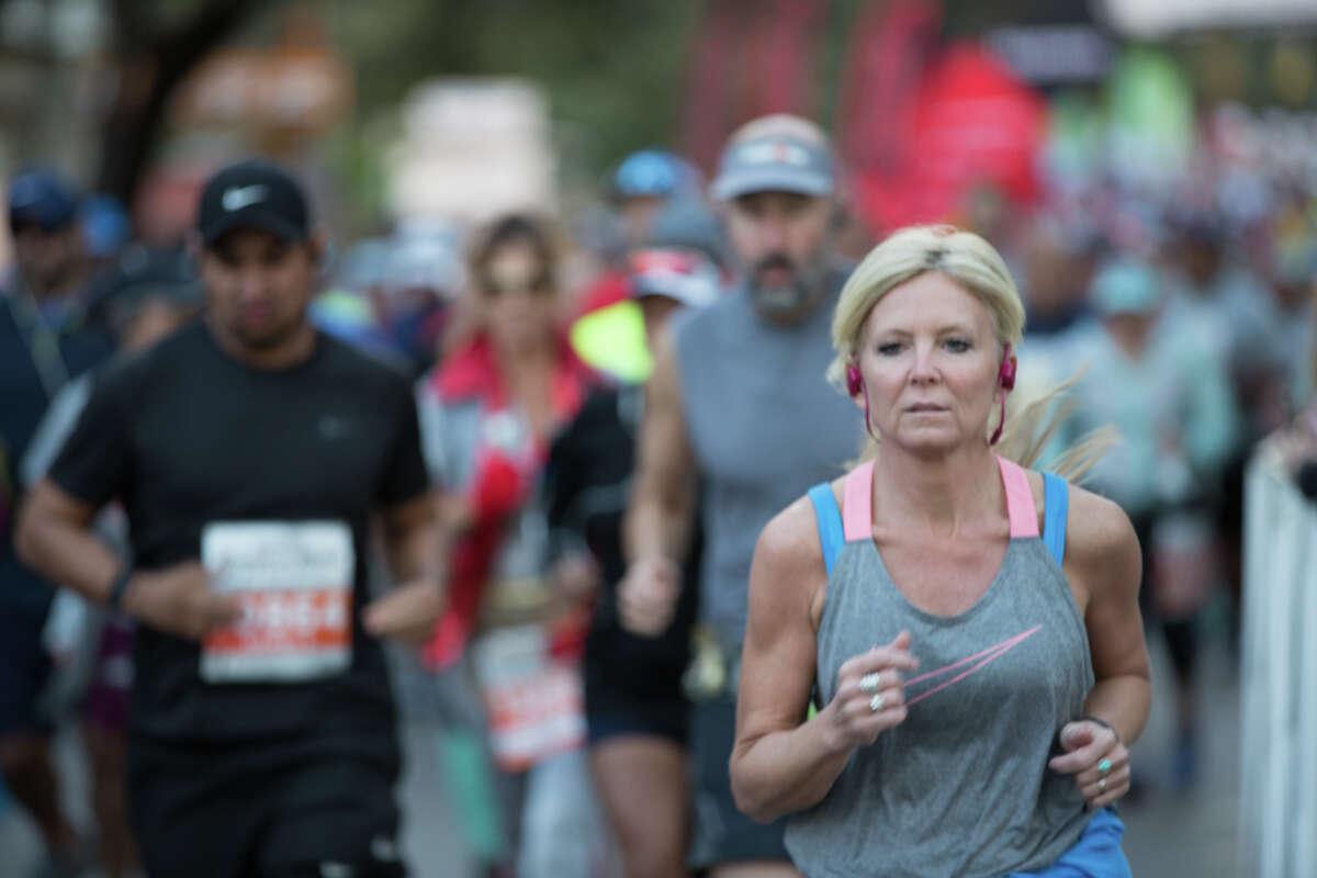 Thousands were registered to run in 2018's Humana Rock 'n' Roll Marathon Sunday Dec. 2, 2018.