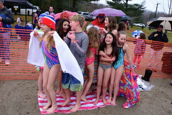 Washington Montessori School held it's Seventh Annual Polar Plunge fundraiser on Sunday December 2, 2018 at Lake Waramaug State Park in New Preston.