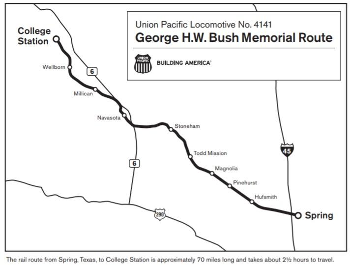 Bush Funeral Train Where To Watch Houstonchronicle Com