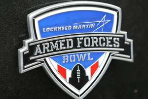 FORT WORTH, TX - JANUARY 02:  A trophy is seen during the Lockheed Martin Armed Forces Bowl game between the Houston Cougars and the Pittsburgh Panthers at Amon G. Carter Stadium on January 2, 2015 in Fort Worth, Texas.  (Photo by Sarah Glenn/Getty Images)