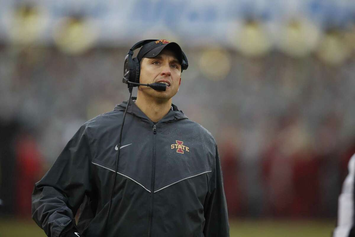 oach Matt Campbell would set Iowa State's record for wins in a season (9) and in past two (17).