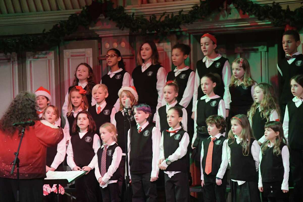Members of the Troy Children's Chorus perform at the Troy Savings Bank Music Hall at the 36th Annual Troy Victorian Stroll on Sunday, Dec. 2, 2018, in Troy, N.Y. (Paul Buckowski/Times Union)