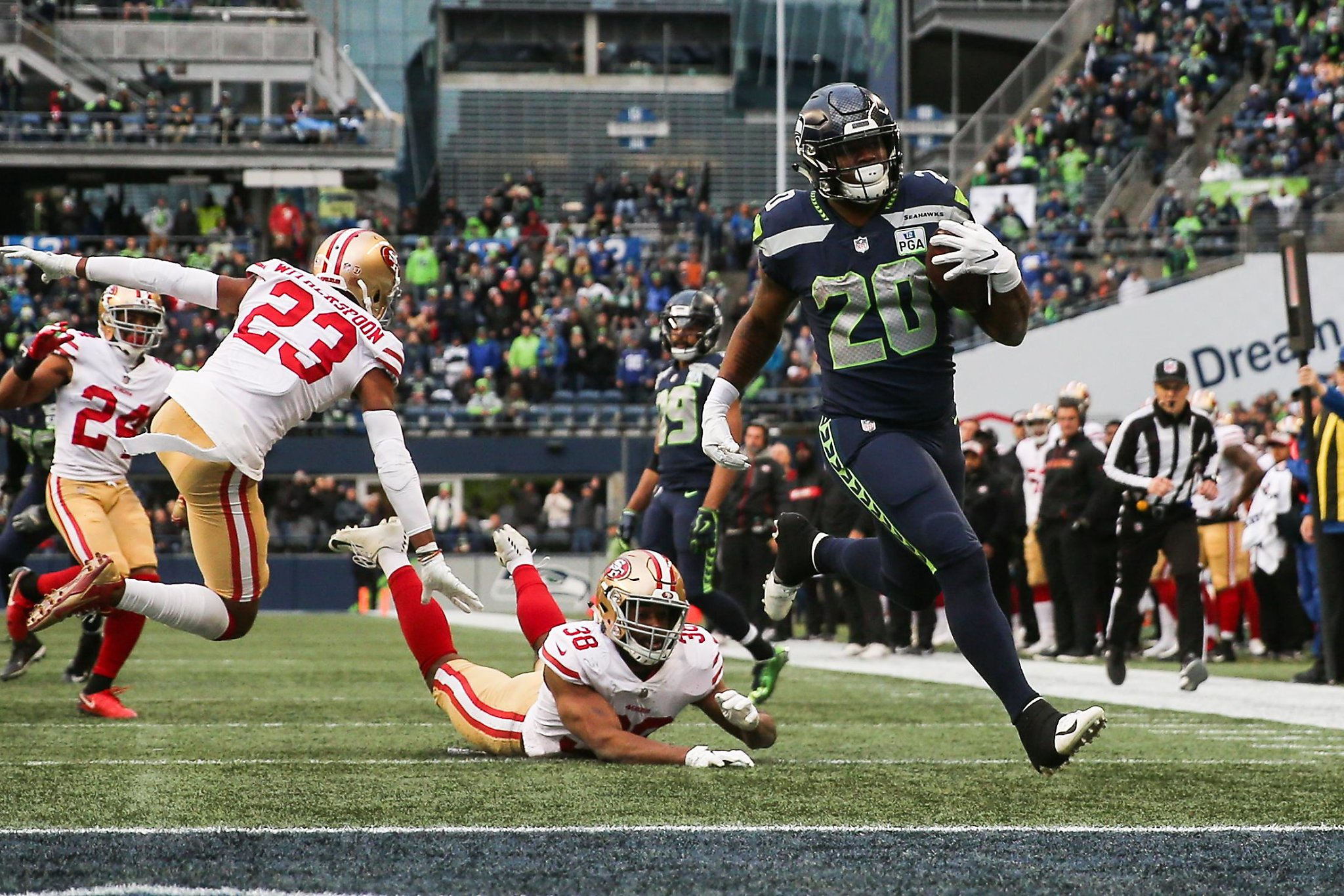 49ers routed by Seahawks in Sherman s return to Seattle ... 5b59852db