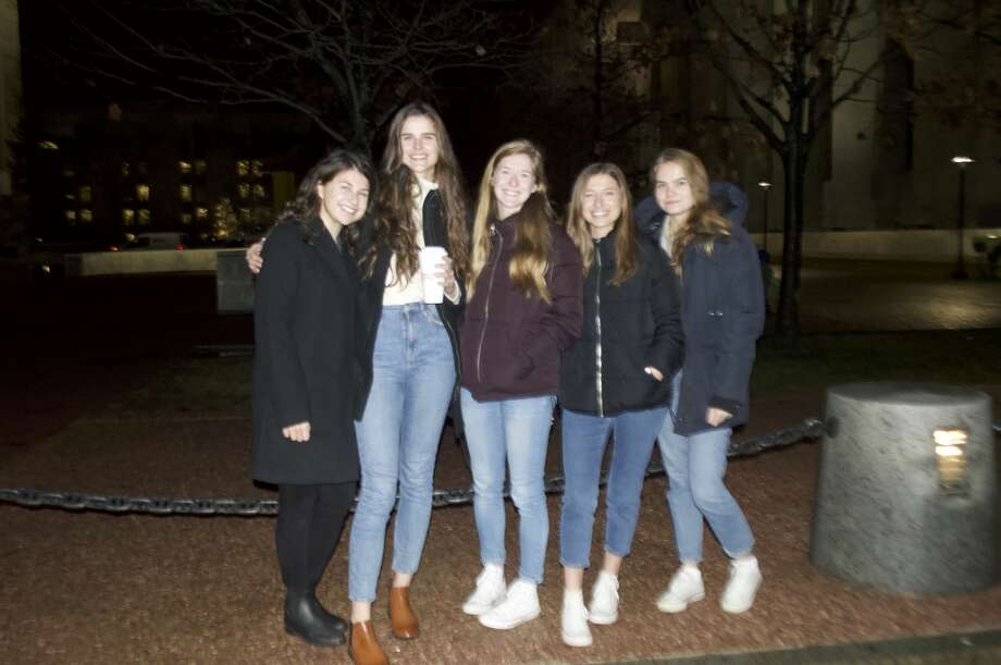 Were you Seen at the New York State Holiday Tree Lighting and Fireworks Festival at Empire State Plaza in Albany on Dec. 2, 2018? Photo: Julia Williams, The College Of Saint Rose