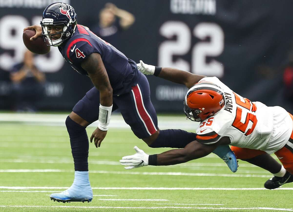 Deshaun Watson will play his third game against the Browns, who passed on taking him in the 2017 draft, opting to trade the pick to the Texans.