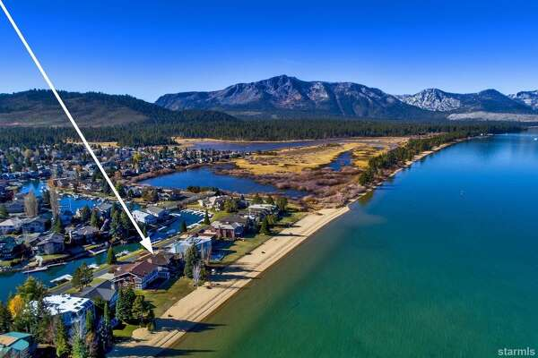 A $6.3 South Lake Tahoe paradise: this cabin is directly across from its own private dock and lake access.