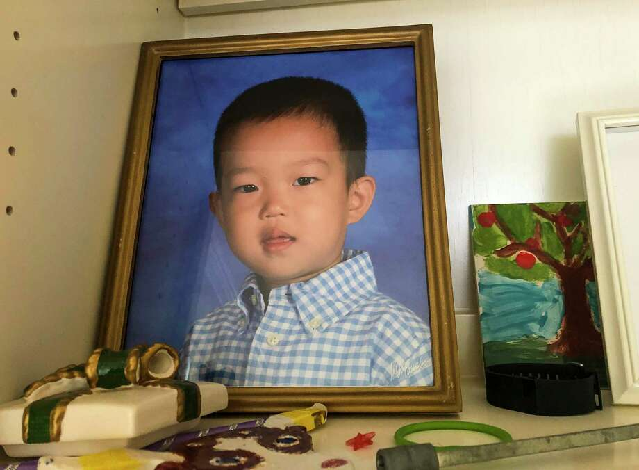 Jiadong Xu, 5, was killed Friday night at his west Houston home. His mother has been arrested in his death.  Photo: Nicole Hensley, Staff Photographer / © 2018 Mark Mulligan / Houston Chronicle