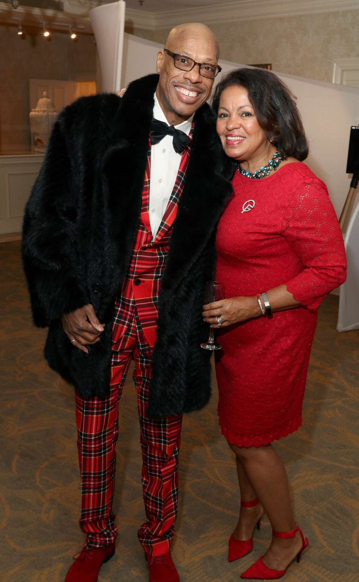 Were you Seen at the Girl Friends Inc.'s 26th annual Paint the Town Red fundraiser on Sunday, December 2, 2018 at the Glen Sanders Mansion in Scotia?