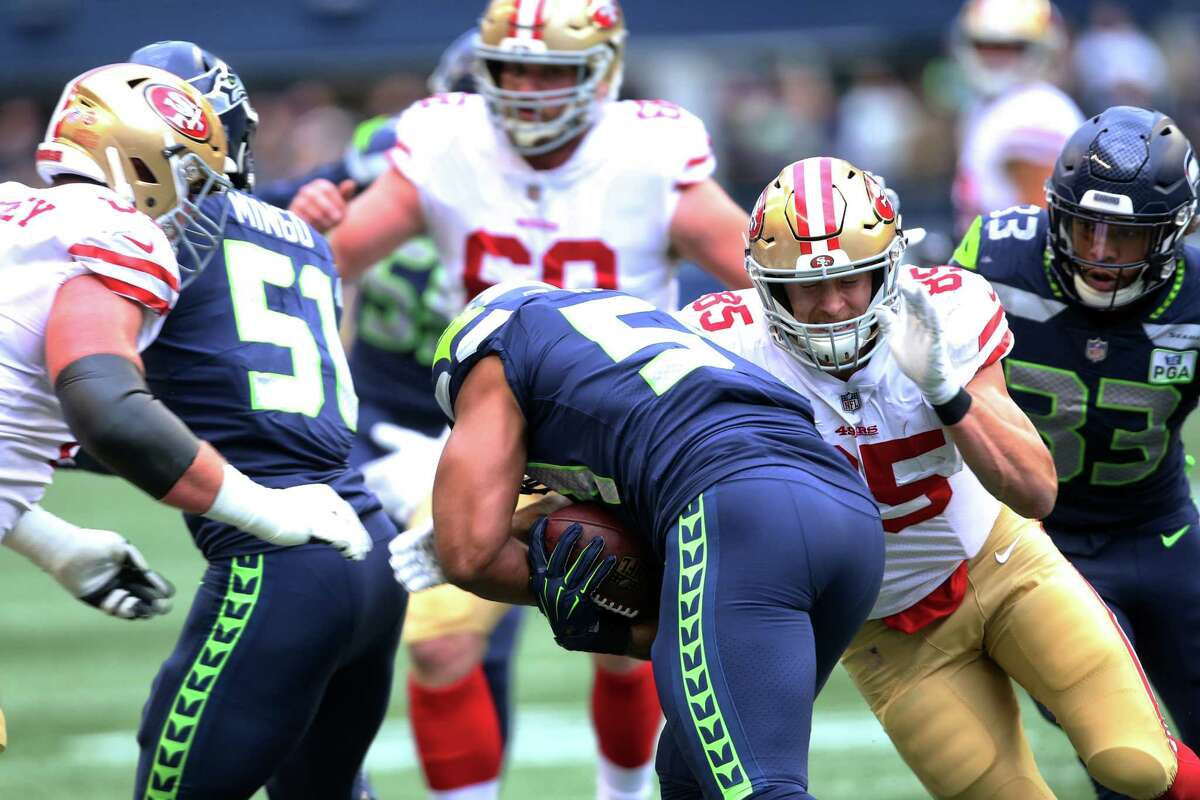 With having a short week, does it help that you just played the 49ers in Week 13? Carroll: