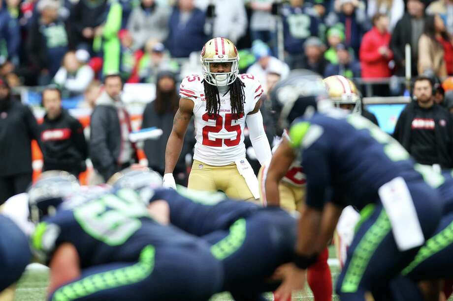 QUIET NIGHT FOR RICHARD SHERMAN 