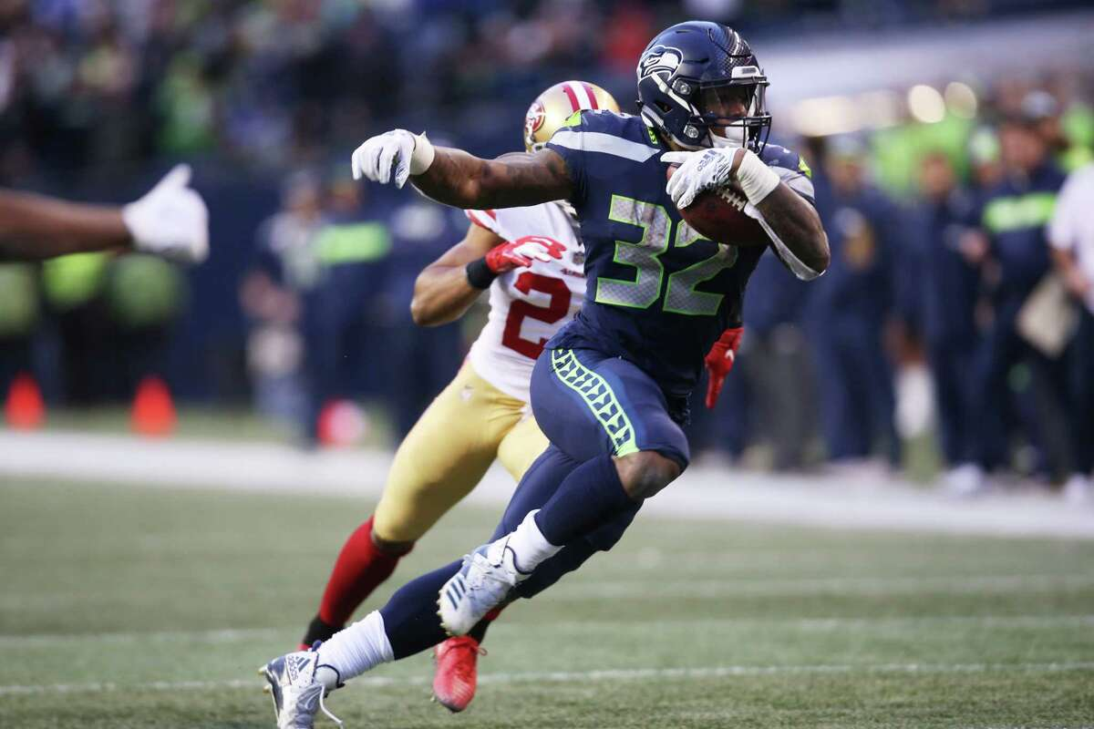 RUNNING BACK: CHRIS CARSON Carson, a 2017 seventh-round pick, became the Seahawks' first 1,000-yard rusher since Marshawn Lynch in 2014 last season. Pete Carroll is expecting a big sophomore season from Rashaad Penny, but Carson should remain RB1.