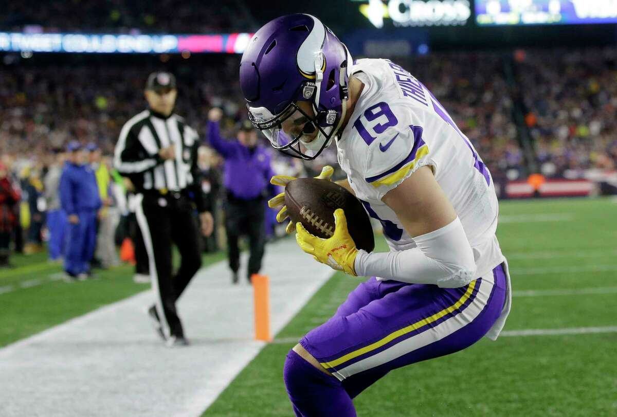 What is it about the receiving duo of Stefon Diggs and Adam Thielen that's different than the last time you faced them, where they've progressed to be the dynamic players they are now? Carroll: