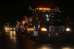Scenes from the 33rd Annual Harbor Beach Lighted Christmas Parade.
