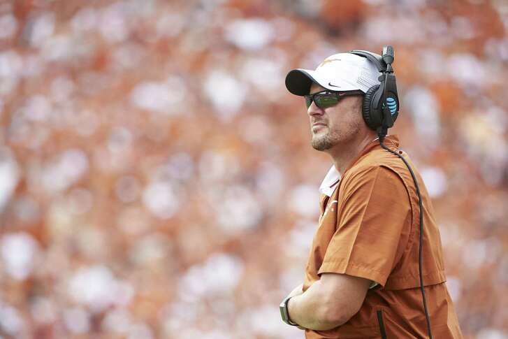 UT coach Tom Herman last matched wits with Georgia coach Kirby Smart in 2015.