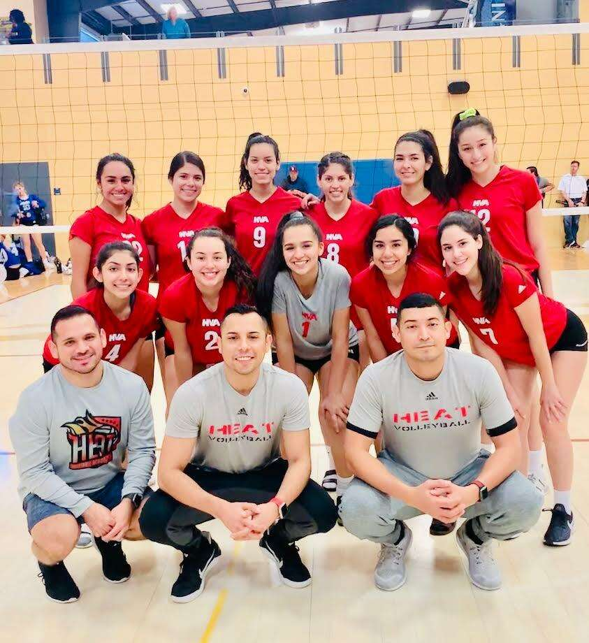 The Heat 17-year-old division went 5-0 this past weekend at the Tour of Texas Warm-up Tournament. Photo: Courtesy Of Heat Volleyball Academy