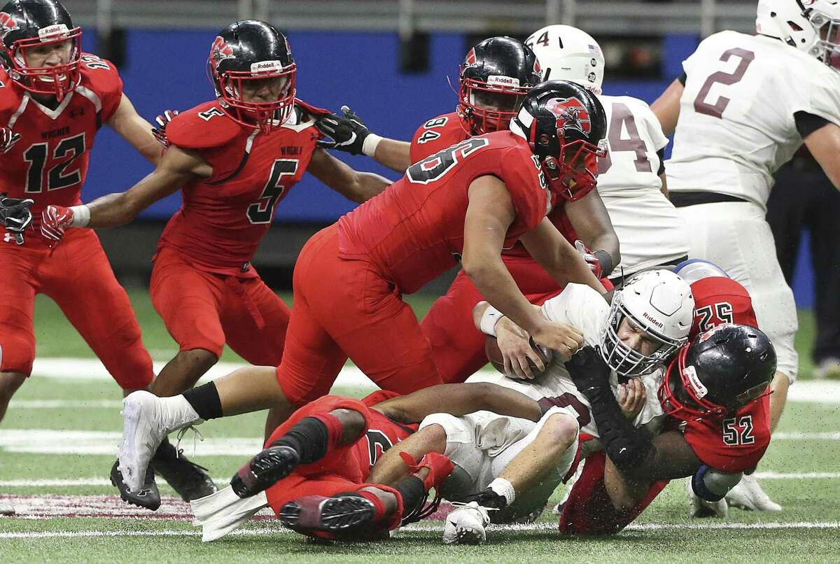 Saturday, Dec. 8 Class 5A Division I Wagner Thunderbirds (12-1) vs. Mission Veterans Memorial (12-1) 10 a.m., Alamodome