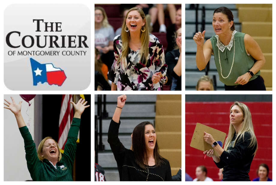 Megan Storms (Willis), Terri Wade (The Woodlands), Kori Parker (TWCA), Rachel Croley (Oak Ridge) and Kayli Kerr (Montgomery) are The Courier's nominees for Coach of the Year. Photo: Staff Photos