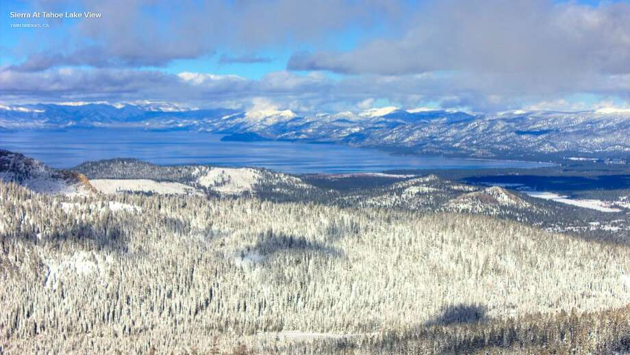 Tahoe stuns with its snowy beauty on Dec. 2, 2018, after a series of three snow storms slammed the area the week before. Photo: NWS